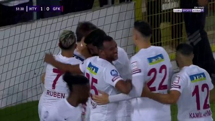Hatayspor 1-0 Gaziantep:  Gol de Mame Diouf