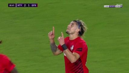 Hatayspor 2-1 Gaziantep: Gol de Angelo Sagal