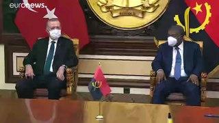 Reforço da cooperação entre Angola e a Turquia
