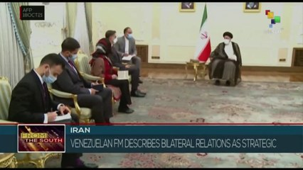 FTS 18:30 18-10: Iranian and Venezuelan foreign minister meet in Tehran