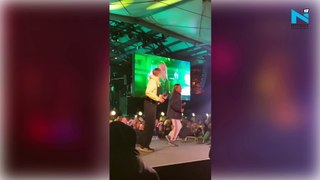 Watch, Greta Thunberg dances to Rick Astley's Never Gonna Give You Up at a concert