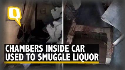 Smuggled Liquor Seized in Bihar's Muzaffarpur