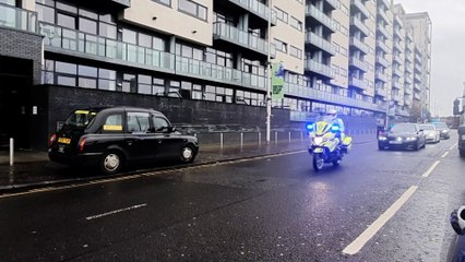 Police Transport Preparations cop26
