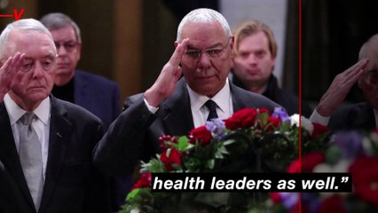 Right-Wing Media Using Colin Powell's Death From COVID-19 Complications to Raise Vaccine Questions