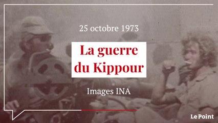 Octobre 1973 : la guerre du Kippour
