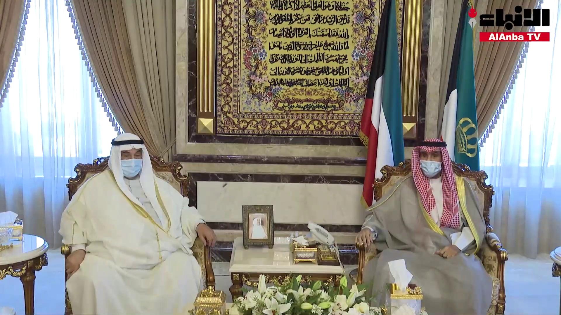 الأمير استقبل رئيسي السلطتين والمحمد والشايع