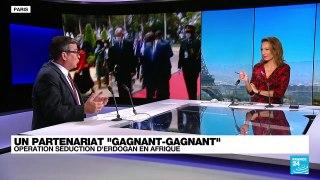 Turquie : Erdogan en Afrique, opération séduction