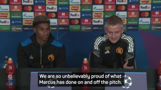 Solskjaer clears the air after telling Rashford to 'prioritise football'