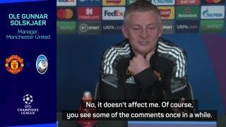 Carragher comments won't change United stance - Solskjaer