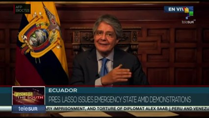 FTS 18:30 19-10: Pres. Lasso issues mergency state amid demostrations in Ecuador