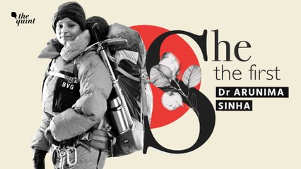 She The First I Dr Arunima Sinha: World's First Woman Amputee To Scale Mt Everest