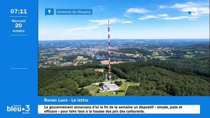 20/10/2021 - Le 6/9 de France Bleu Creuse en vidéo