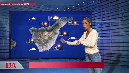 La previsión del tiempo en Canarias para el jueves 21 de octubre