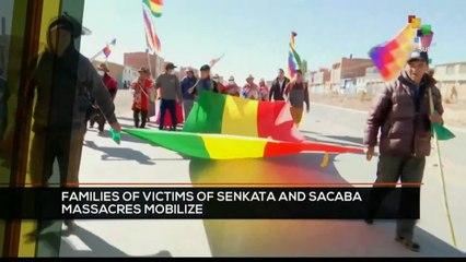 FTS 8:30 20-10: Families of victims of Senkata and Sacaba massacres mobilize
