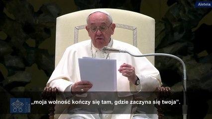 Franciszek: tutaj brakuje relacji!