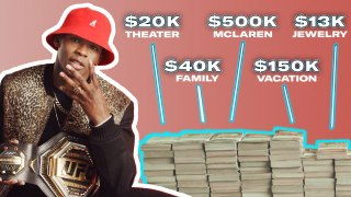 How Israel Adesanya Spent His First $1M in the UFC   My First Million