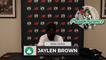 """Jaylen Brown: """"I Feel Awesome To Be Honest. I'm Excited."""" 