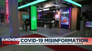 Romanian police investigate 'false' empty COVID-19 hospital claim