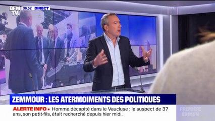 Les tergiversations des adversaires d'Éric Zemmour face à ses provocations
