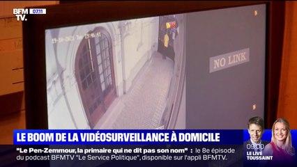 Face aux cambriolages, la vidéosurveillance se démocratise dans les foyers français