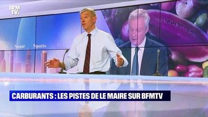 Carburants : les pistes de Le Maire sur BFMTV - 21/10