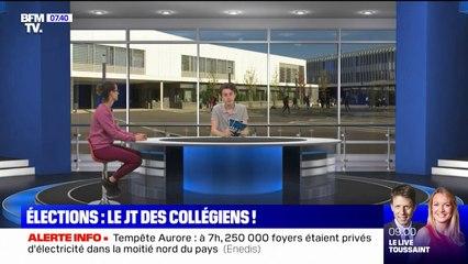 L'épatant JT de collégiens de Pontoise pour l'élection de leurs délégués