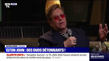 """Elton John sort vendredi """"The Lockdown Sessions"""", un album de duos étonnants"""