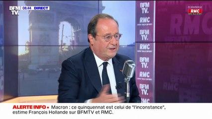"""François Hollande: """"Anne Hidalgo est socialiste, je voterai pour elle"""""""