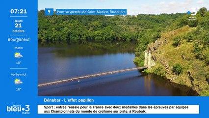 21/10/2021 - Le 6/9 de France Bleu Creuse en vidéo
