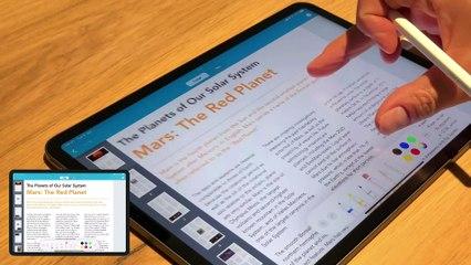 Prizmo 5.5 - Apple Pencil Annotation Demo
