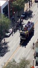 L'équipe féminine championne de WNBA parade dans la ville mais personne ne vient les voir (Chicago)