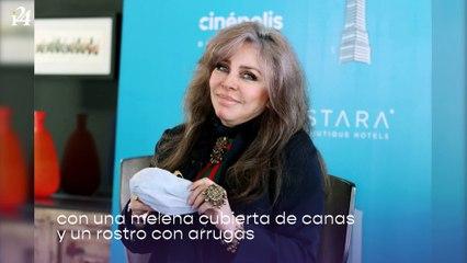 Con canas y arrugas: Verónica Castro se muestra al natural y da lección de amor propio