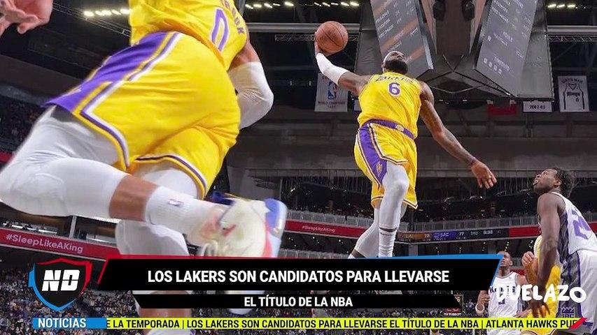 Los candidatos para llevarse el título en la NBA