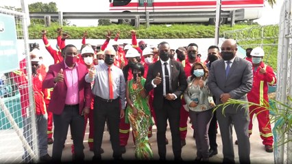 WASA BOOSTER STATION OPENS IN CHAMPS FLEURS