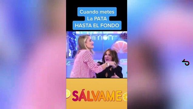 A Alonso Caparrós se le escapa el nombre de Marta Riesco en 'Sálvame' y desvela su pasado en común con la supuesta amante de Antonio David