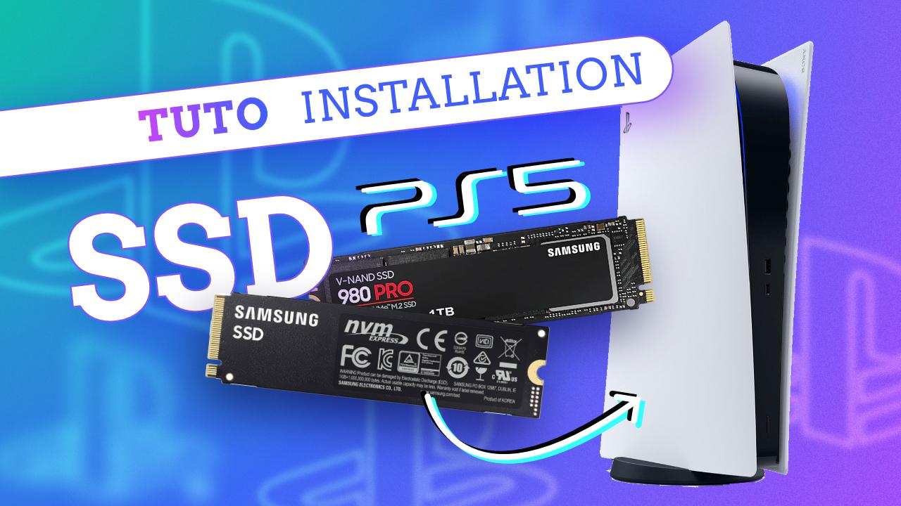 PS5 : Comment AUGMENTER le stockage interne avec un SSD M2 !