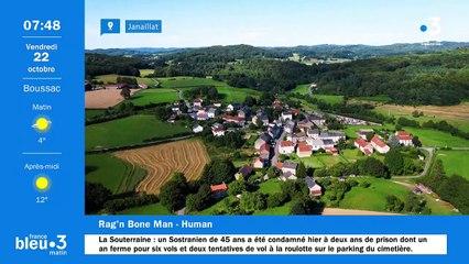 22/10/2021 - Le 6/9 de France Bleu Creuse en vidéo