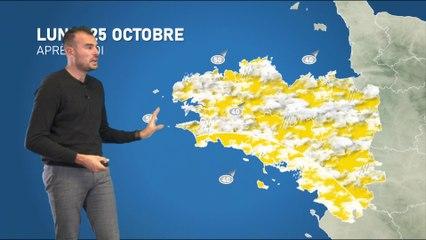 Illustration de l'actualité La météo de votre lundi 25 octobre 2021