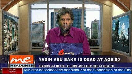 Yasin Abu Bakr is dead at age 80