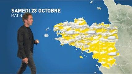 Illustration de l'actualité Bulletin météo pour le samedi 23 octobre
