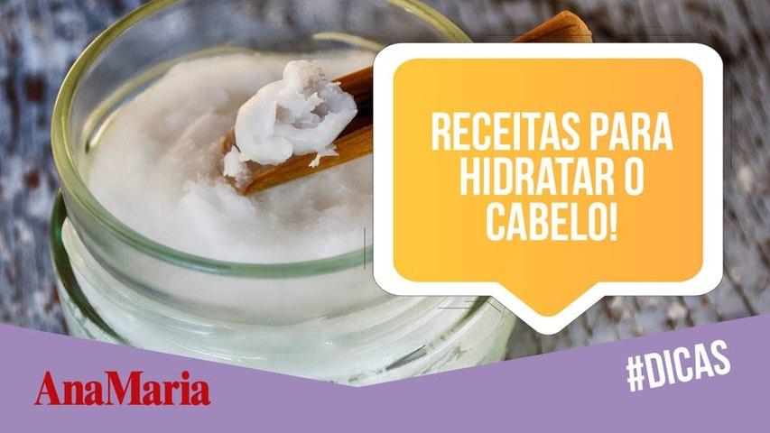 HIDRATAÇÃO DO CABELO: CONFIRA 3 RECEITAS CASEIRAS! (2021)