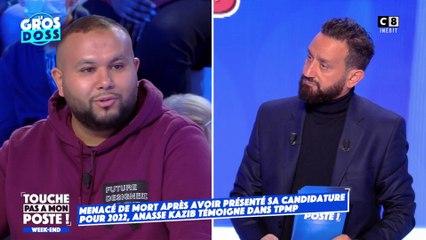 Anasse Kazib, candidat à l'élection présidentielle, menacé de mort