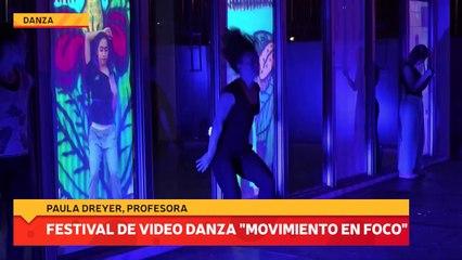 """Festival de video danza """"movimiento en foco"""""""