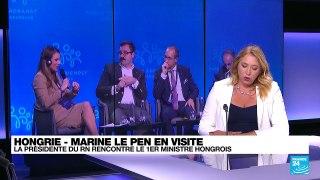 Marine Le Pen en Hongrie pour rencontrer le Premier ministre conservateur