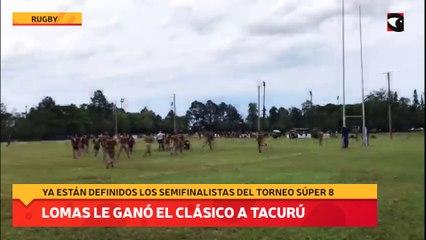 Lomas le ganó el clásico a Tacurú