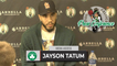 """Jayson Tatum on Udoka's 1st Win: """"It's Good To Get That Off Your Back.""""   BOS vs HOU 10-24"""
