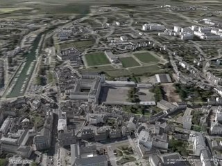 Vannes en 3D dans Microsoft Virtual Earth
