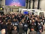 A Saint-Etienne, Emmanuel Macron annonce un plan pour le secteur de l'Industrie - Reportage TL7 - TL7, Télévision loire 7