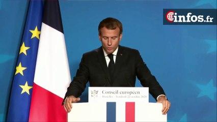 """Macron: """"Comment apporter une réponse efficace et durable qui protège les citoyens et les entreprises"""""""