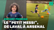 """À 5 ans, il est recruté par Arsenal et surnommé le """"petit Messi"""""""